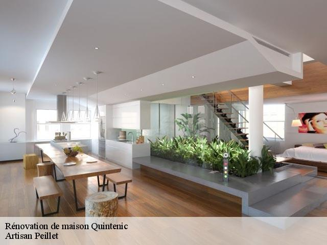 Rénovation de maison  quintenic-22400